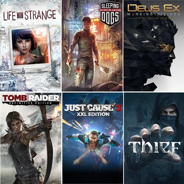 Sleeping Dogs: Definitive Edition & más Square Enix juegos (PC - Steam)