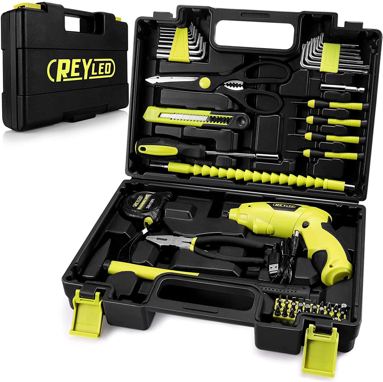 Maletín 57 piezas de herramientas solo 22€