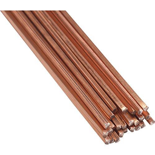 5 Varillas Rothenberger de aleación de cobre para soldadura fuerte industrial