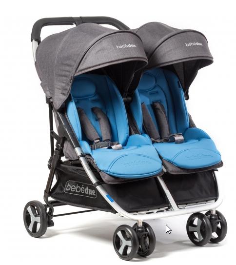 Silla paseo Gemelar marca bebé due.