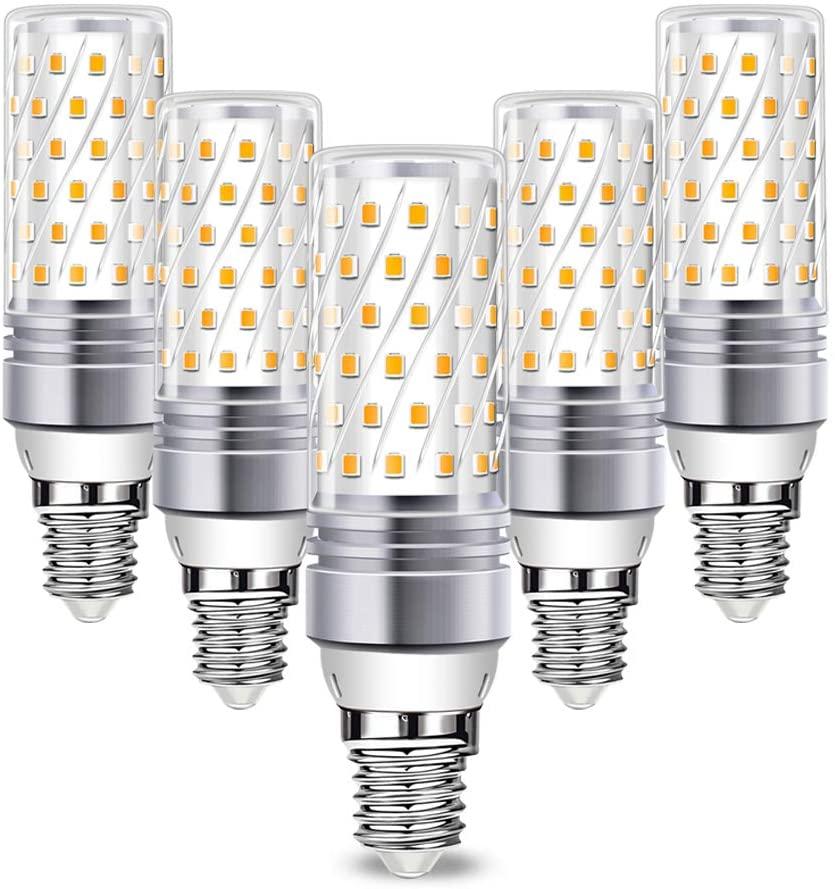 5x Bombillas LED 16W E14 solo 3.9€