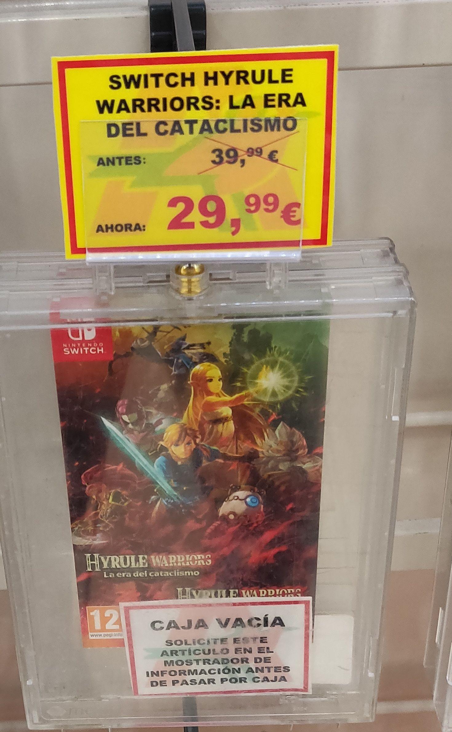 Hyrule Warriors (ZELDA) switch