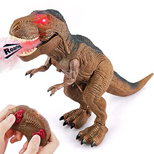 dinosaurio t-rex con control remoto -varias funciones