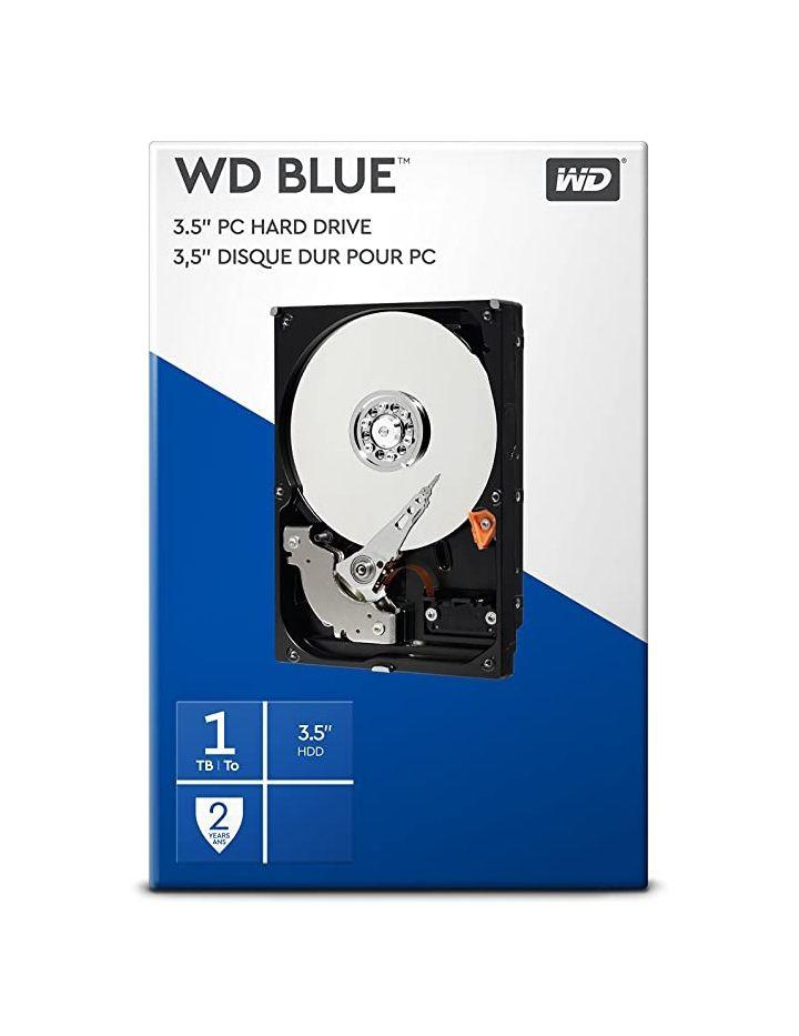 REACO Disco Duro Interno WD Blue 1TB 3.5 pulgadas (Como nuevo)