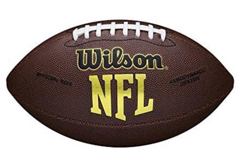 Wilson Pelota de fútbol Americano NFL Bulk Cuero Compuesto para Juego recreativo