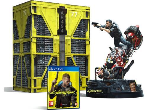 PS4- Cyberpunk 2077 Edición Coleccionista (Tienda Mediamarkt en Ebay)