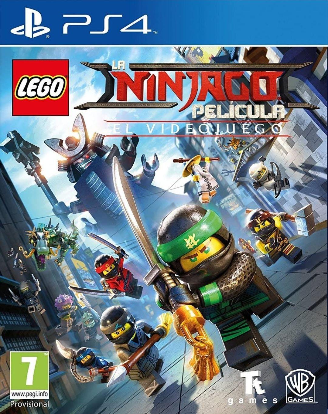 PS4 Lego Ninjago