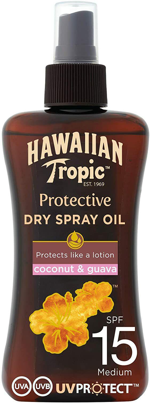Hawaiian Tropic - Protective Dry Oil Spray - Aceite bronceador - 200 ml