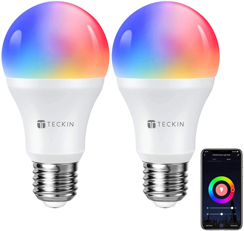 Pack 2 bombillas Alexa & Google solo 9.9€