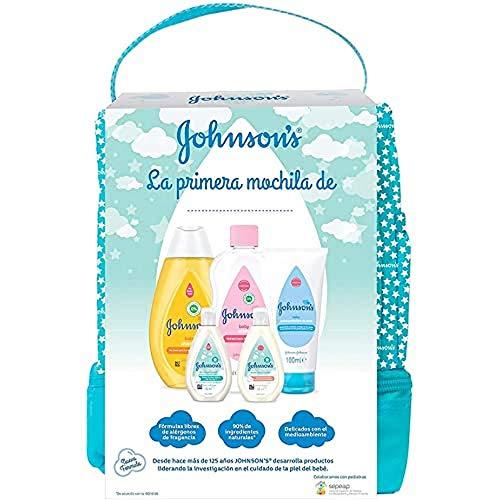 Set Johnson's Baby Pack Bebe Mi Primera Mochila