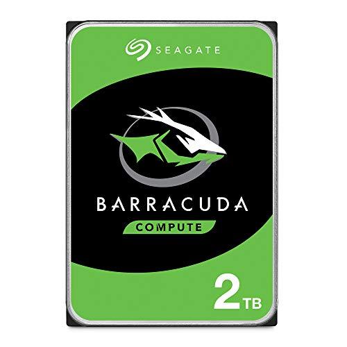 "Seagate BarraCuda, 2 TB, Disco duro interno, HDD, 3,5"""