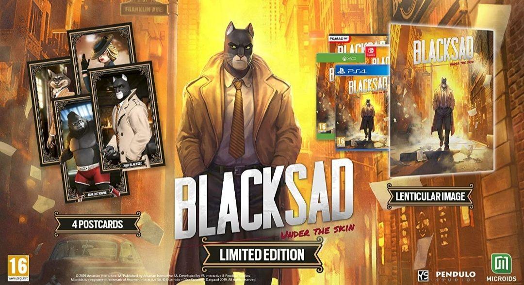 Blacksad Under The Skin Limited Edition (Switch)