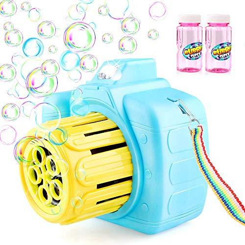 Maquina de Pompas de Jabón con 2 Botellas.