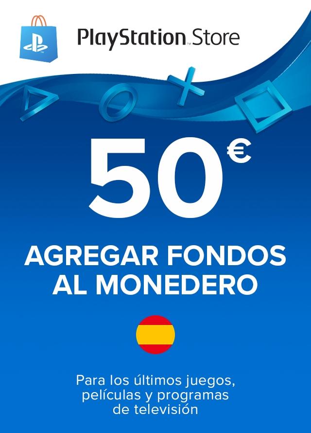 Tarjeta PlayStation Network 50€ por 43.59€