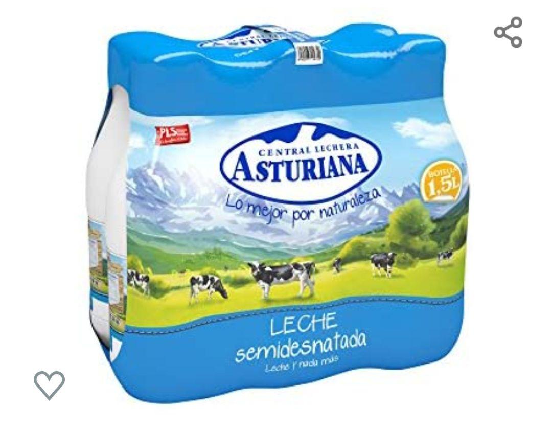 Leche asturiana 6*1.5l