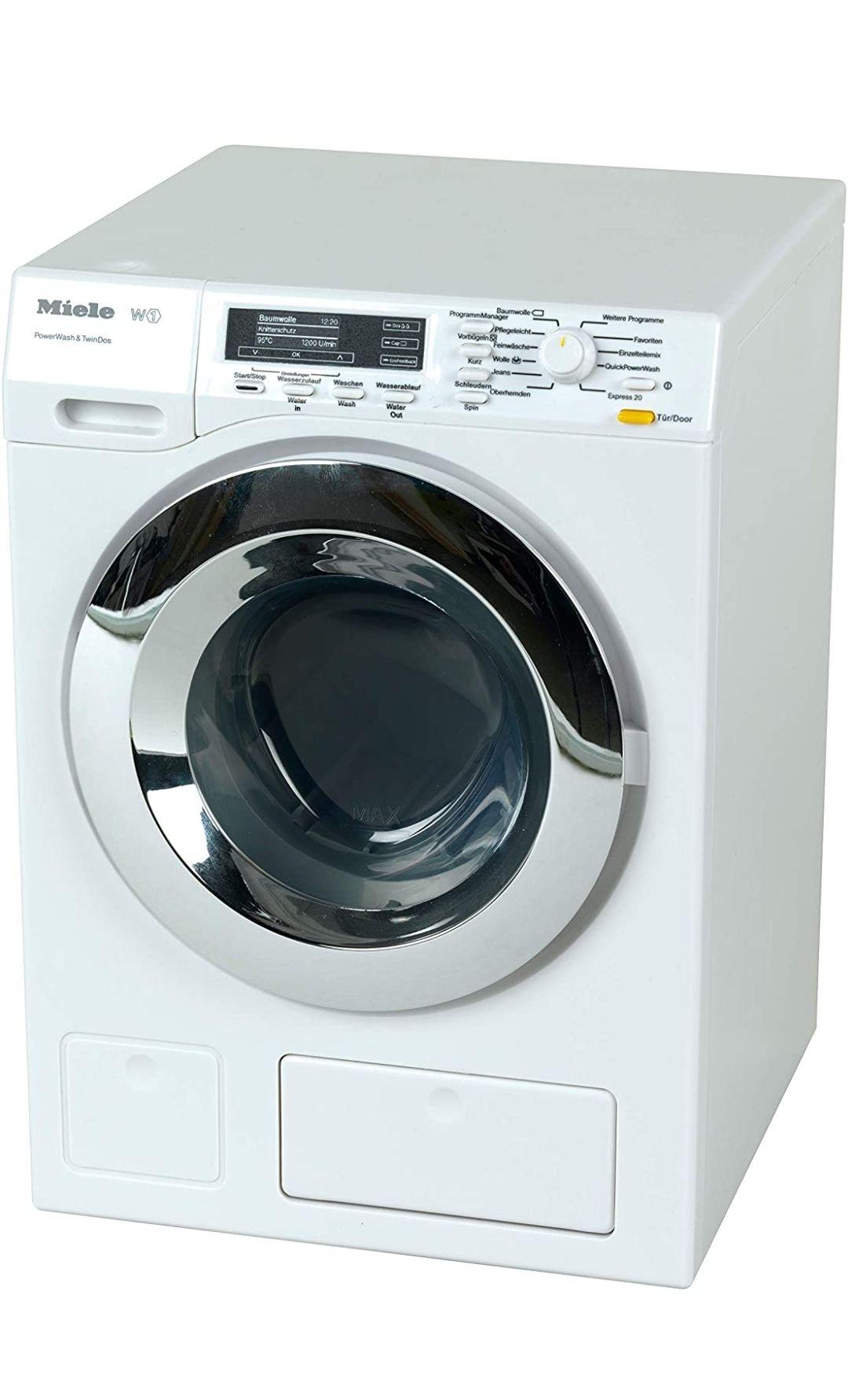 Reaco lavadora Miele de juguete