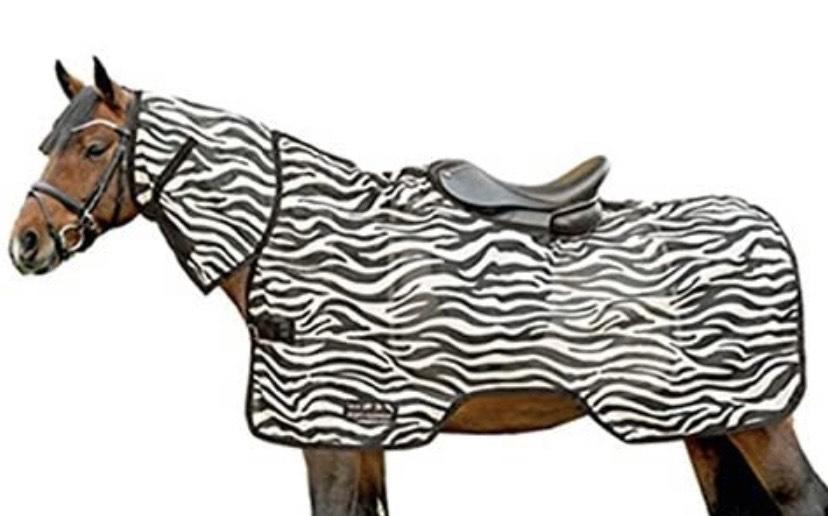 Manta de protección contra insectos diseño Zebra