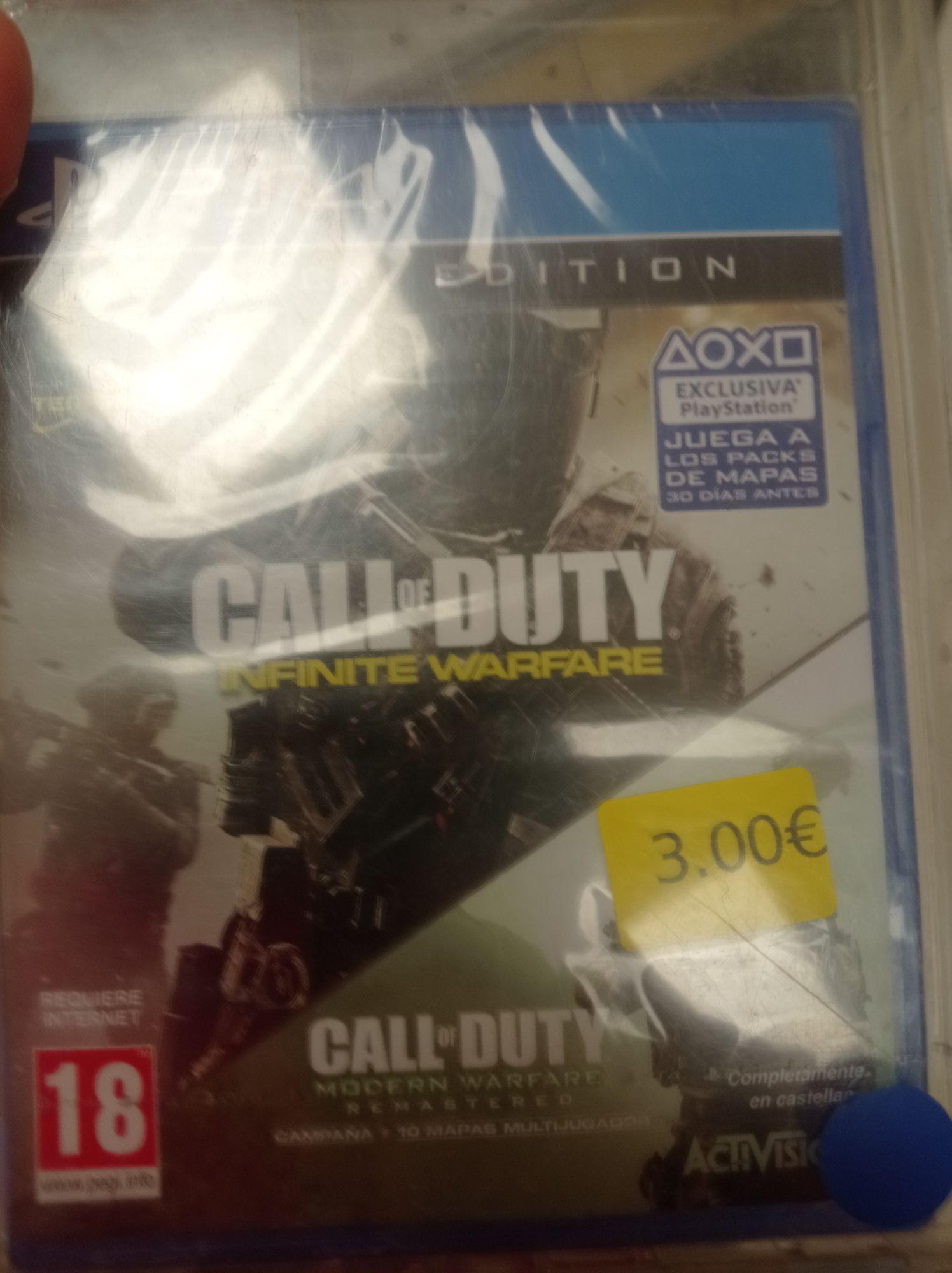 CoD Infinite Warfare + Modern Warfare Remastered (Carrefour Jaén)