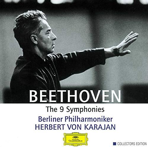 Beethoven: The 9 Symphonies KARAJAN y la Berliner Filarmoniker 5 CD,s