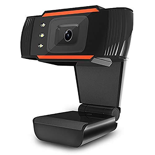 ROSEBEAR Webcams HD USB con micrófono para PC