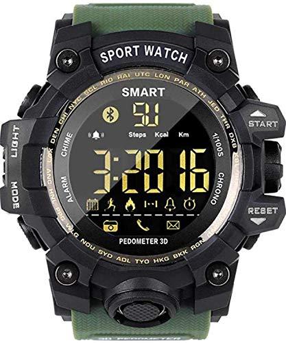 Reloj Inteligente Deportivo IP67, color verde.