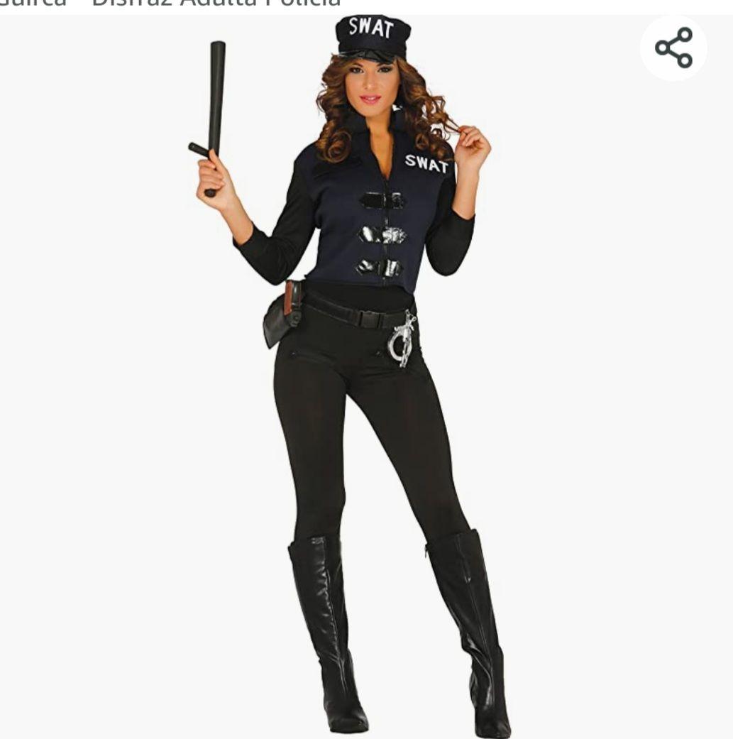 Guirca - Disfraz Adulta Policía
