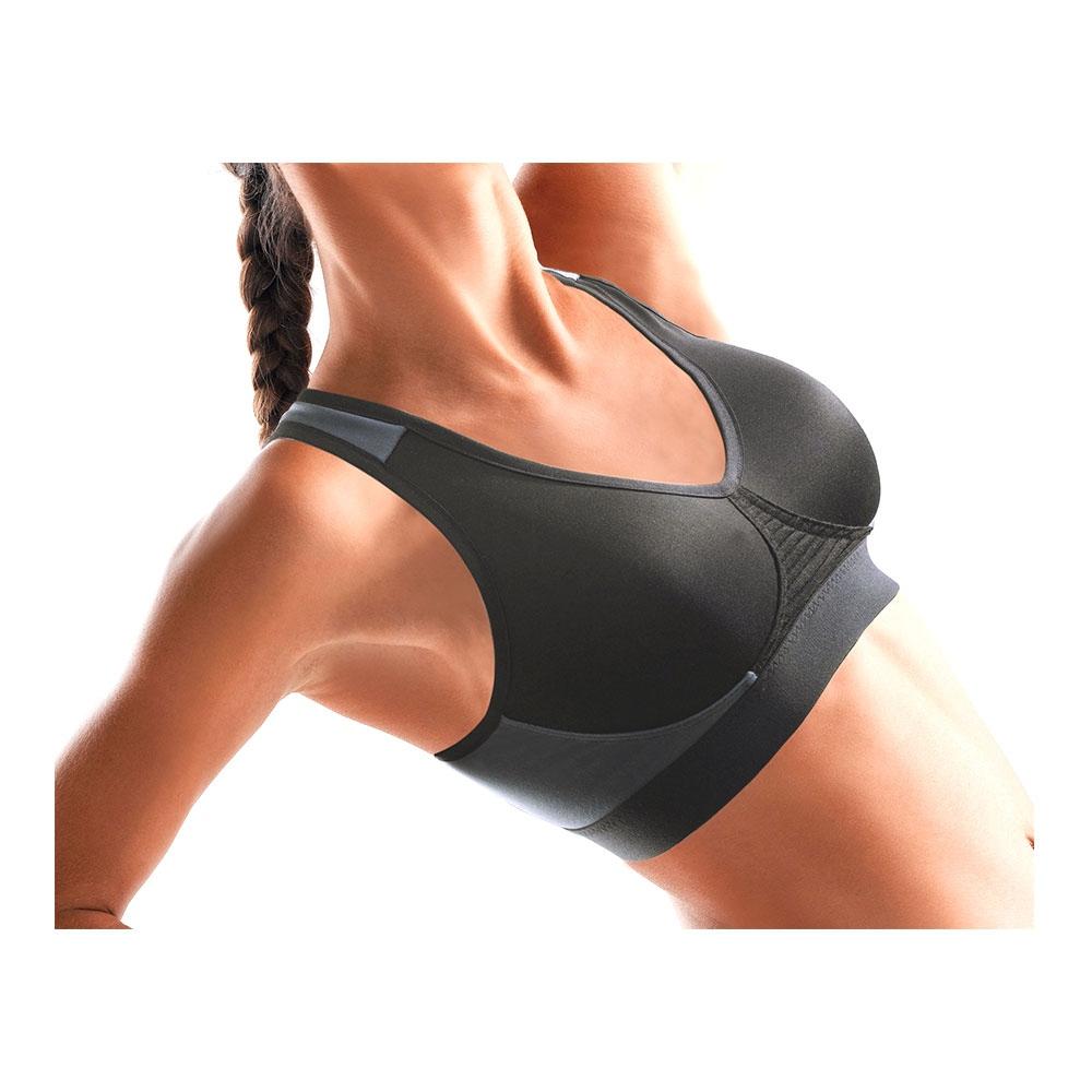 Thuasne Sport Dos Croise - Sujetador Deportivo Mujer Black/grey