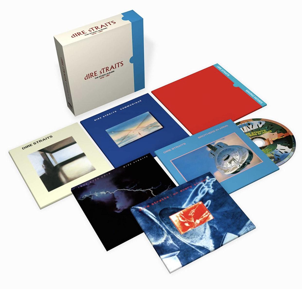 Dire Straits The Studio Albums 1978 1991 Edición limitada en cd