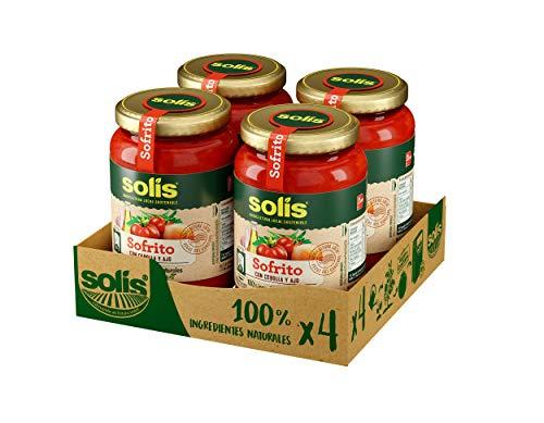 Tomate Solís sin gluten. Sofrito. Pack de 4