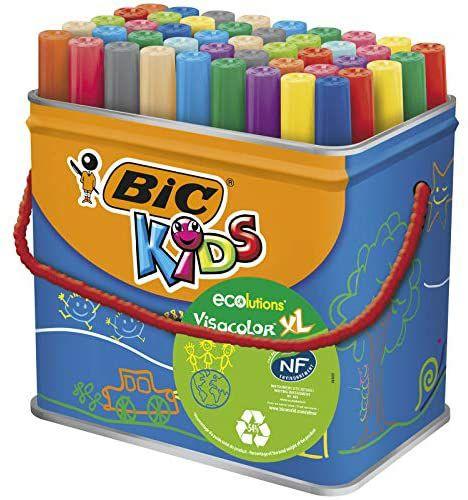Rotuladores punta gruesa BIC Kids 48uds