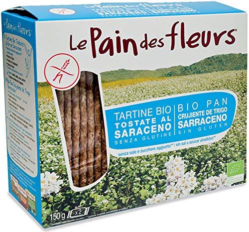 Tostadas sin gluten y sin azucar Le Pain Des Fleurs