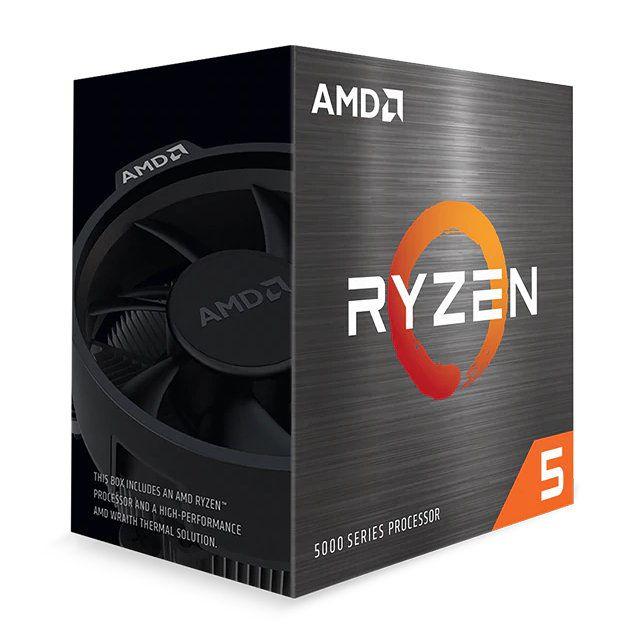 Cpu Amd Ryzen 5 5600x Am4