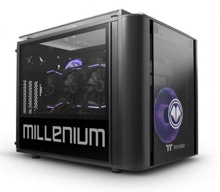 Millenium Mini Fiora con Ryzen 7, 16GB, 1TB + 500GB(SSD), RTX 2070 8GB,W10
