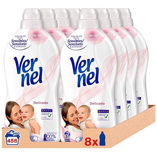 Vernel suavizante pack de 16 x 57 lavados = 912 lavados
