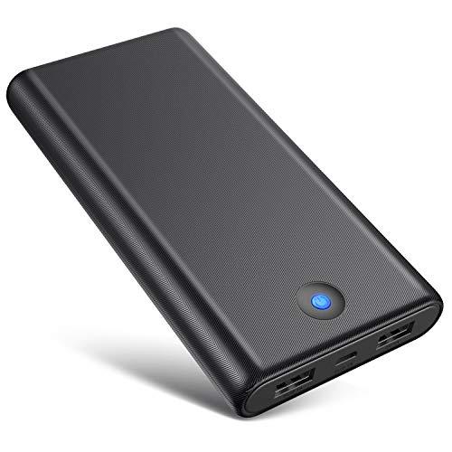 Batería Externa Móvil 26800mAh Gran Capacidad Power Bank Carga Rápida Cargador Movil Portátil