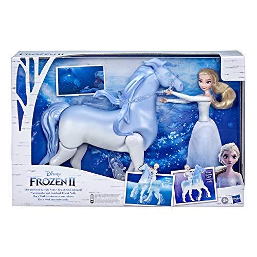 Disney Frozen 2 Figuras Elsa Y Nokk Acuáticos.