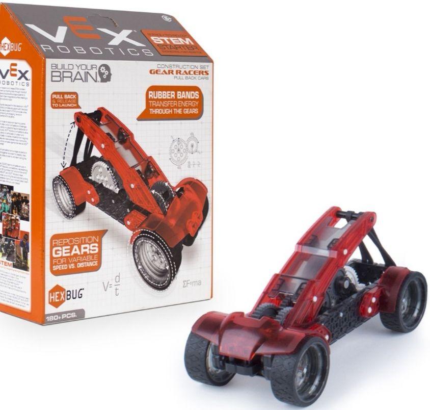 Juguetrónica - Vex coche racer. Coche Robótico con 180 piezas