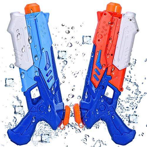 2 pistolas de agua