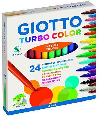 Giotto Turbo Color 24 Rotuladores, Multicolor