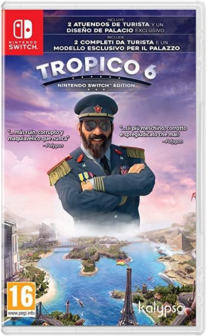 Tropico 6 para Nintendo Switch