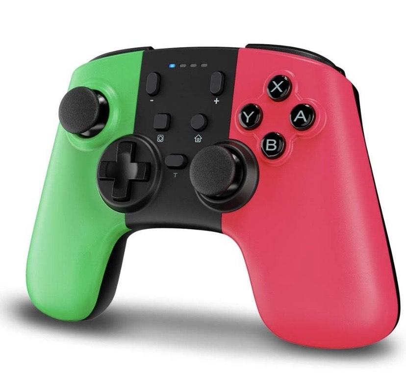 STOGA Mando para Nintendo Switch, Bluetooth Wireless Switch Pro Controller con batería recargable,