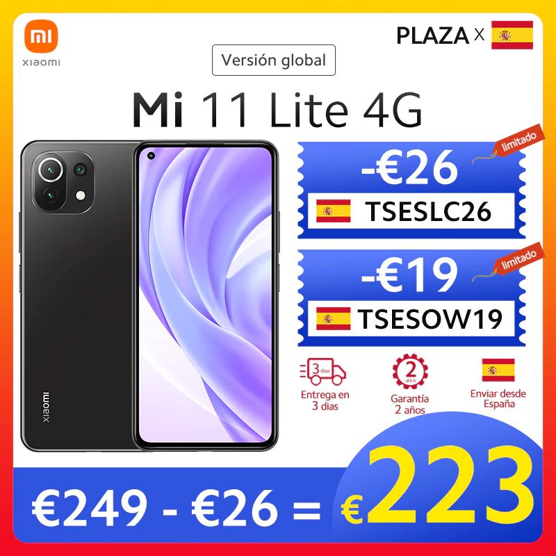¡¡MINIMO!! Xiaomi Mi11 Lite 6Gb 128Gb (Plaza)