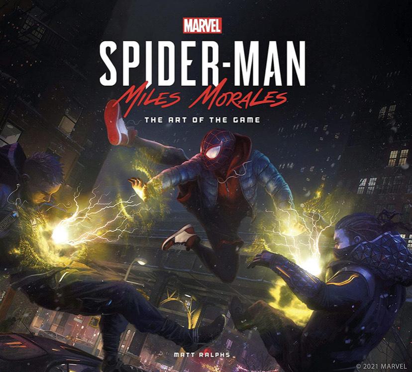 Libro de arte Spiderman Miles Morales