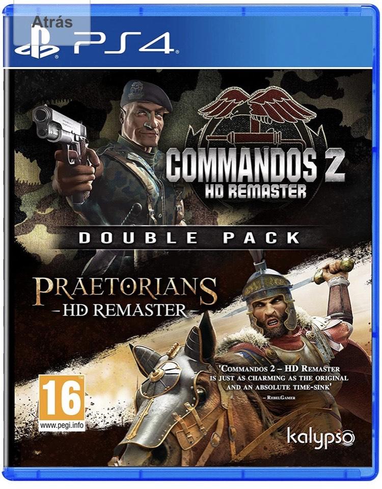 Commandos 2 & Praetorians HD Remaster Doube Pack PS4 - XBOX - PC