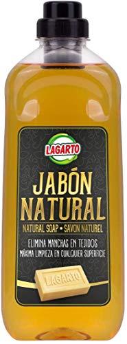 Lagarto Jabón Natural Liquido botella de 1 litro