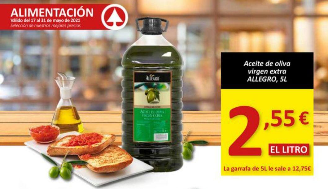 Aceite de oliva virgen extra 5L Allegro