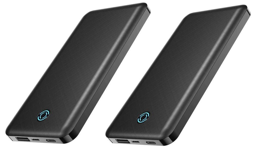 2 x Powerbank YKZ-Batería Externa PowerCore de 10000mAh - Desde España