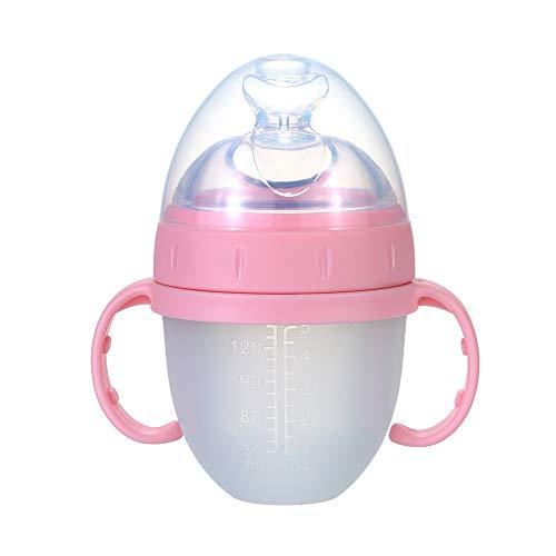 Vaso con Boquilla de Silicona para Bebés.