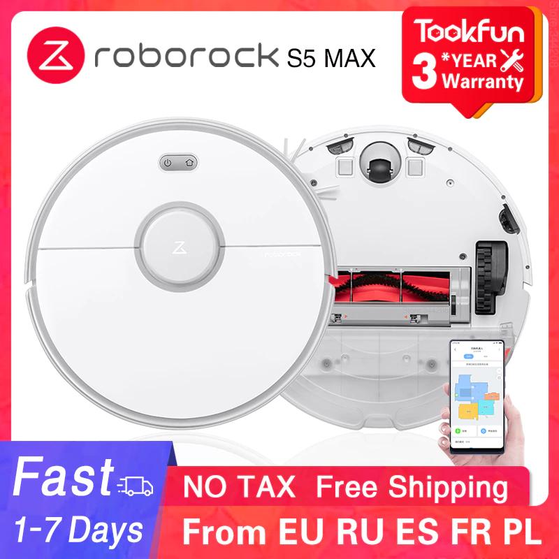 Roborock S5 Max Robot aspirador automático desde España