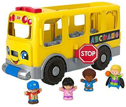 Fisher-Price- Autobús Escolar Amarillo